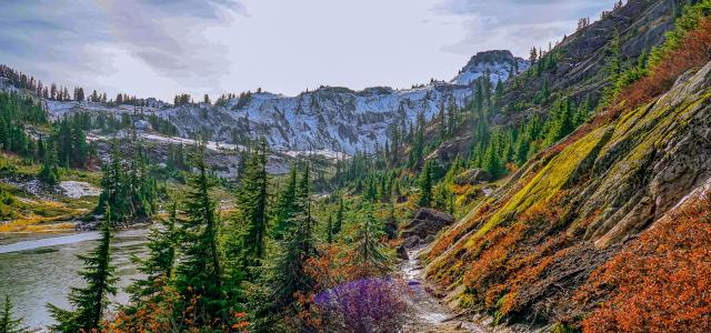 Mount Baker – Snoqualmie National Forest, Washington, USA